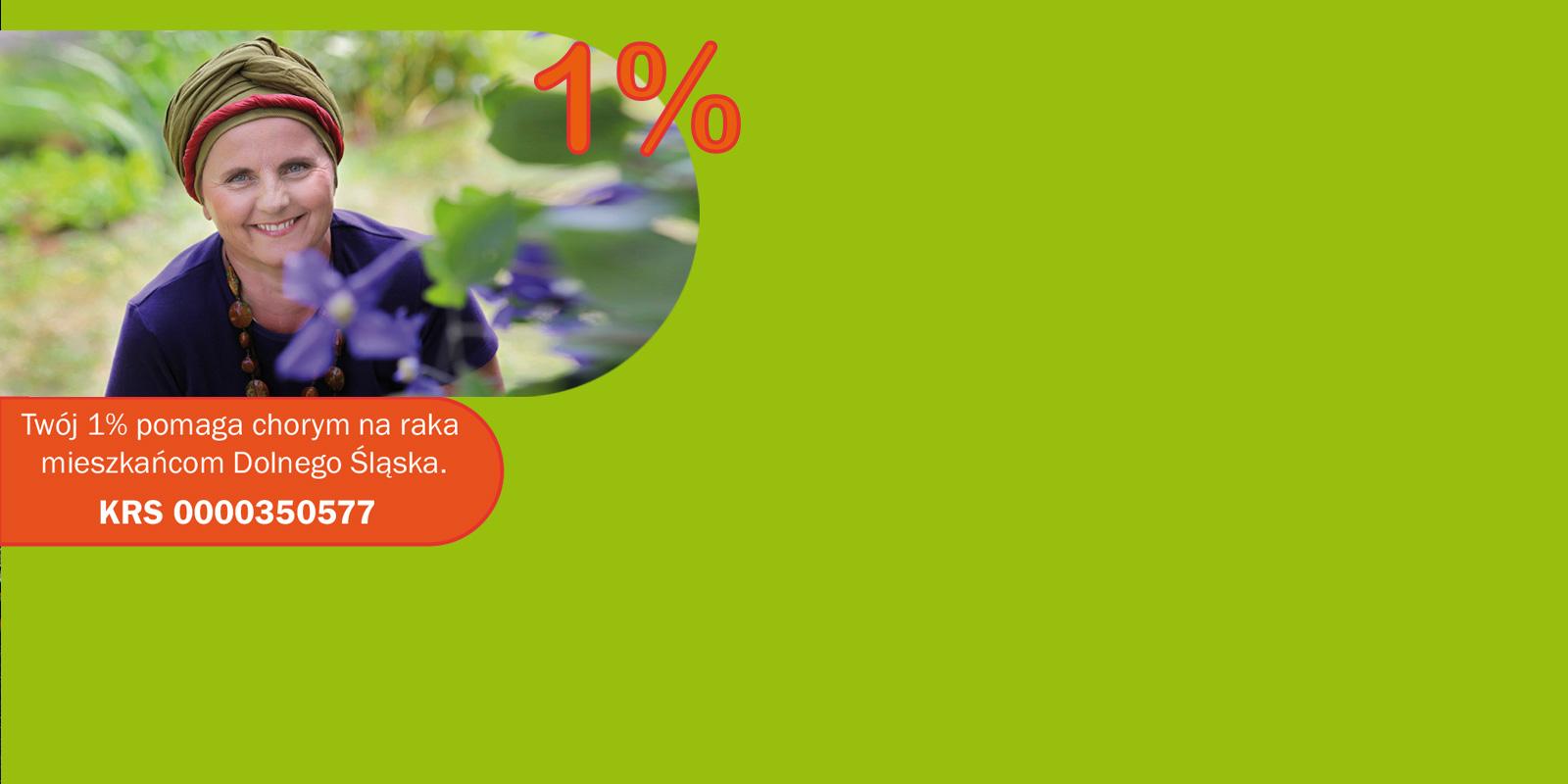 Pomóżcie nam pomagać przekazując swój 1%podatku!