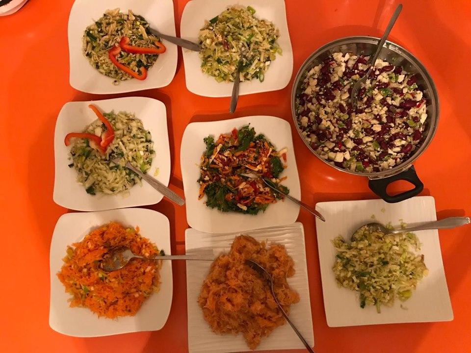 Styczniowy wykład z diety połączony z pokazem gotowania.